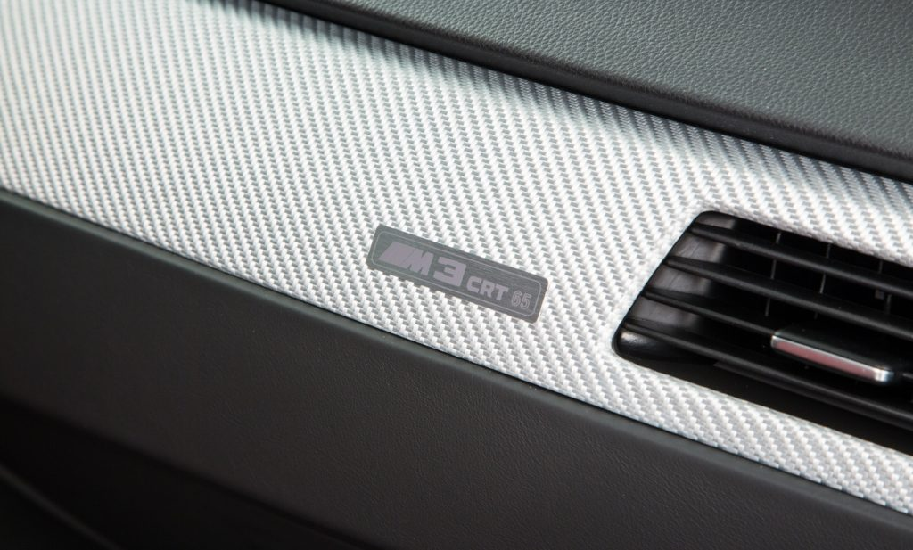BMW M3 CRT For Sale - Interior 8