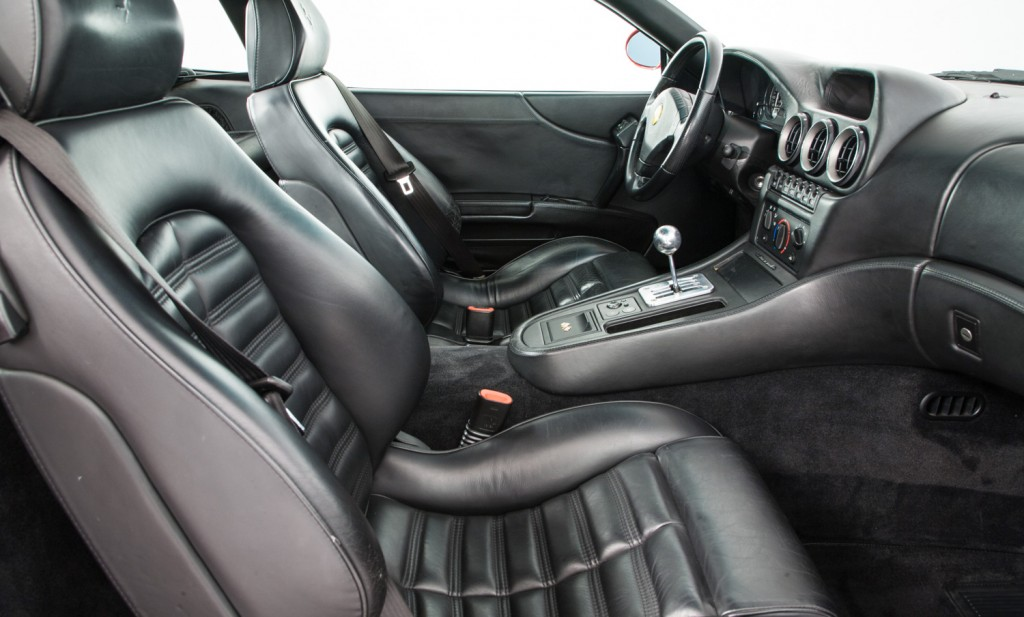 Ferrari 550 Maranello For Sale - Interior 1