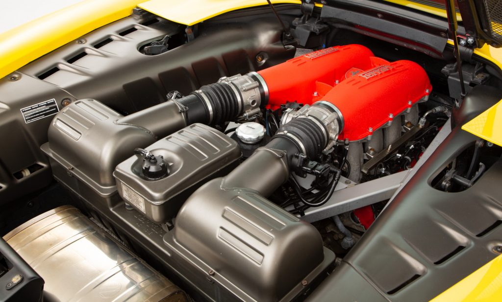 Ferrari F430 Spider F1 For Sale - Engine and Transmission 4