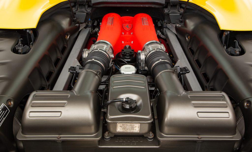 Ferrari F430 Spider F1 For Sale - Engine and Transmission 3