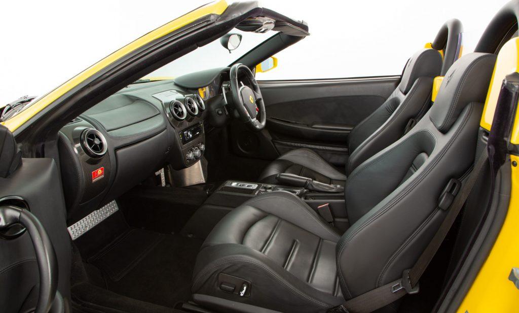 Ferrari F430 Spider F1 For Sale - Interior 4