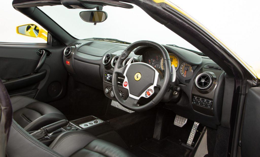 Ferrari F430 Spider F1 For Sale - Interior 2