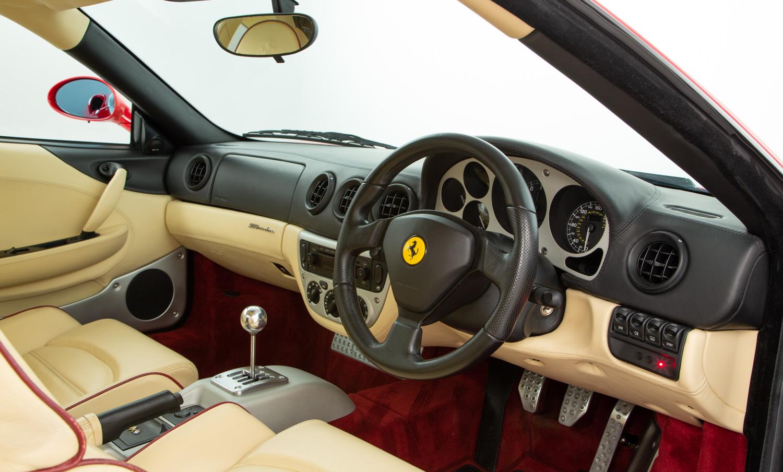 ferrari 360 manual interior