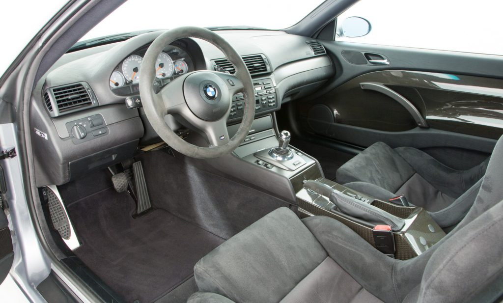 BMW M3 CSL For Sale - Interior 2