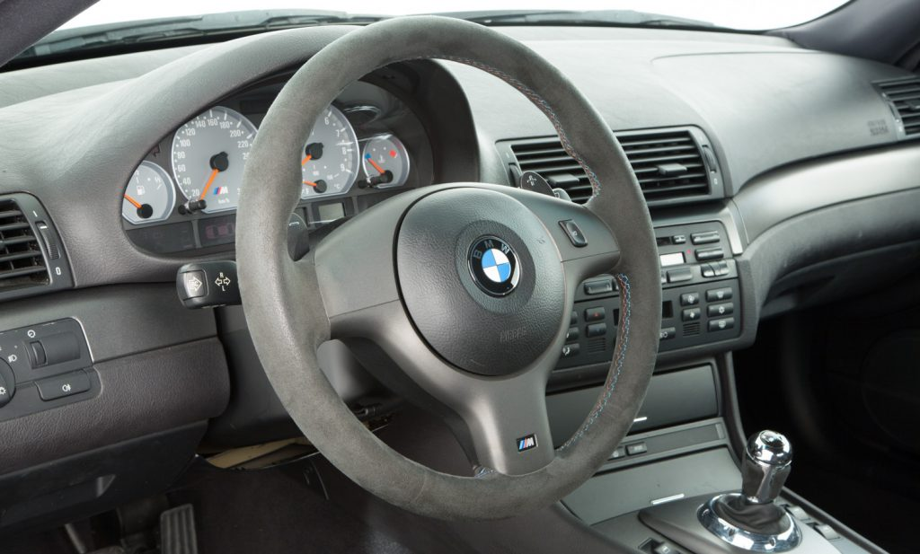 BMW M3 CSL For Sale - Interior 3
